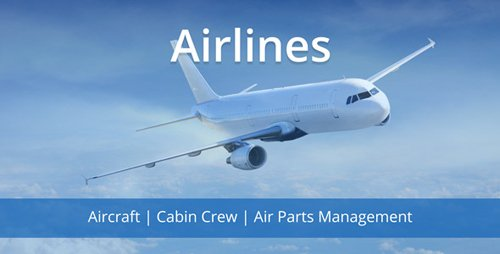 CodeCanyon - Airlines v1.0 - Cabin Crew & Air Parts Management System - 21142172