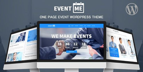 ThemeForest - EventMe v2.5.8 - Corporate Event Landing Wordpress Theme - 8551616