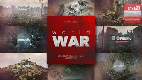 World War Broadcast Package vol.3 - Project for After Effects (Videohive)