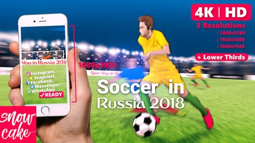 Soccer 21822769 - Project for After Effects (Videohive)