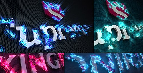 Sci-Fi Energy - Logo Reveal Pack - Project for After Effects (Videohive)