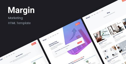 ThemeForest - Margin v1.0 - Marketing HTML Template - 21888243