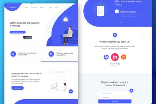 landing Page Business 2018