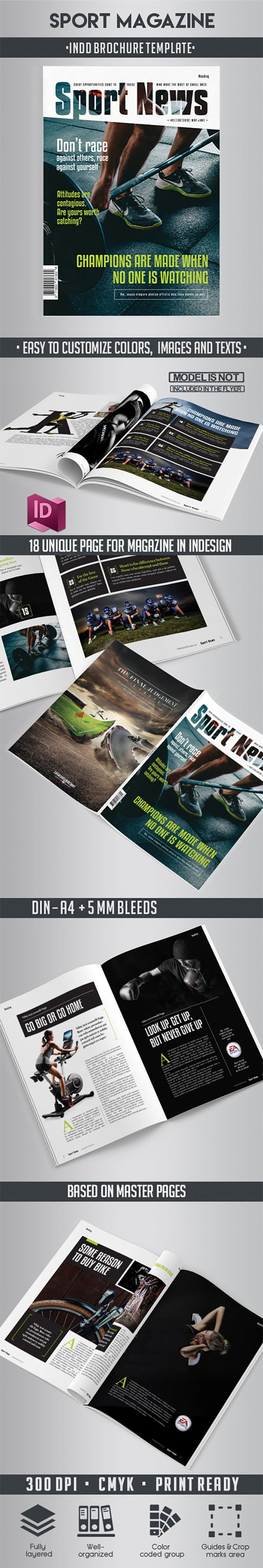 Sport Magazine Indd Template