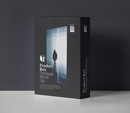 Product Box Package Mockup 3