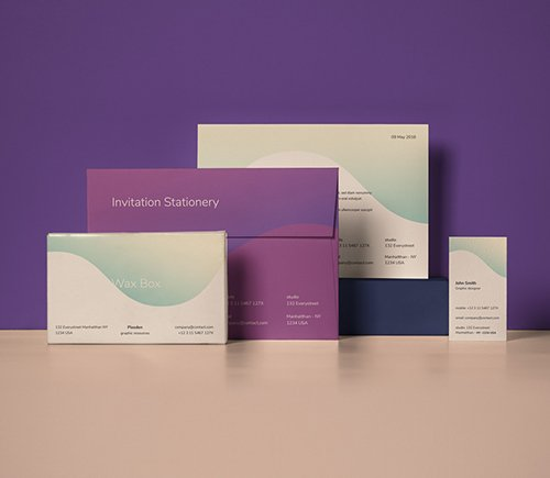 Invitation Stationery Mockup vol 12