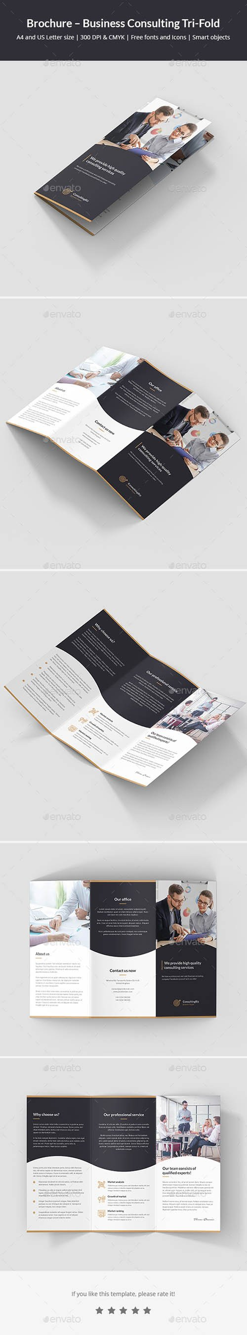GR - Brochure – Business Consulting Tri-Fold 22015194
