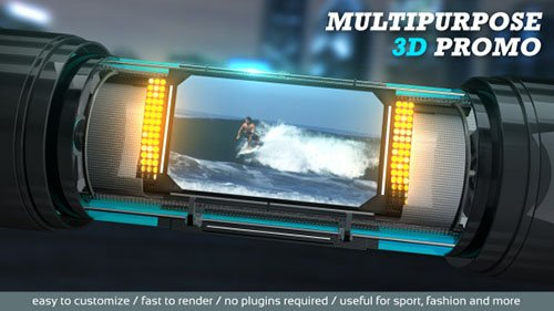 Multipurpose 3D Promo - Project for After Effects (Videohive)