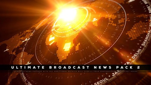 Ultimate Broadcast News Pack 2 - Project for After Effects (Videohive)