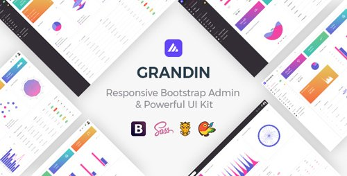 ThemeForest - Grandin v1.0 - Responsive Bootstrap Admin & Powerful UI Kit - 21895947