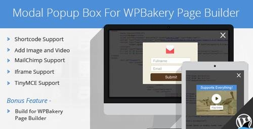 CodeCanyon - Modal Popup Box For Visual Composer v1.4.8 - 7155037