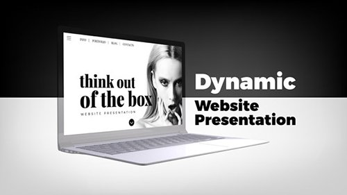 Dynamic Website Presentation 21494247