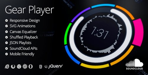 CodeCanyon - Gear HTML5 Audio Player (Update: 13 April 18) - 7724112