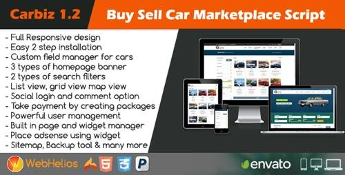 CodeCanyon - Carbiz v1.2.0 - Buy Sell Car Marketplace Script - 21803782 - NULLED