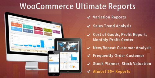 CodeCanyon - WooCommerce Ultimate Reports v2.6 - 19947381