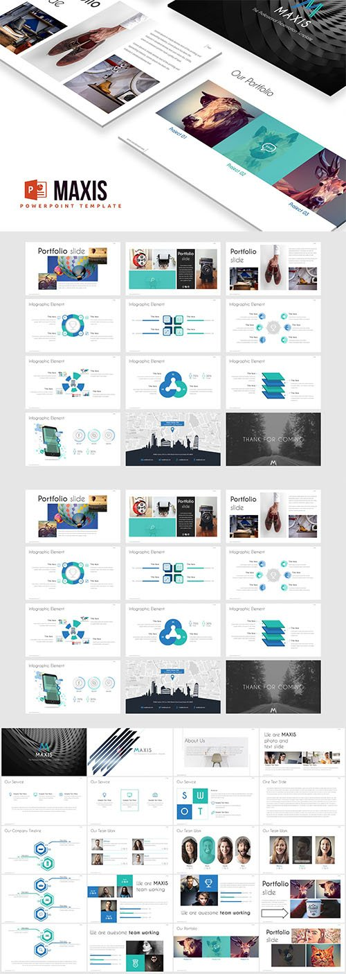 Maxis Powerpoint Template