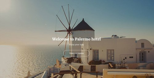 ThemeForest - Palermo v1.0 - Responsive Hotel Template - 19423408