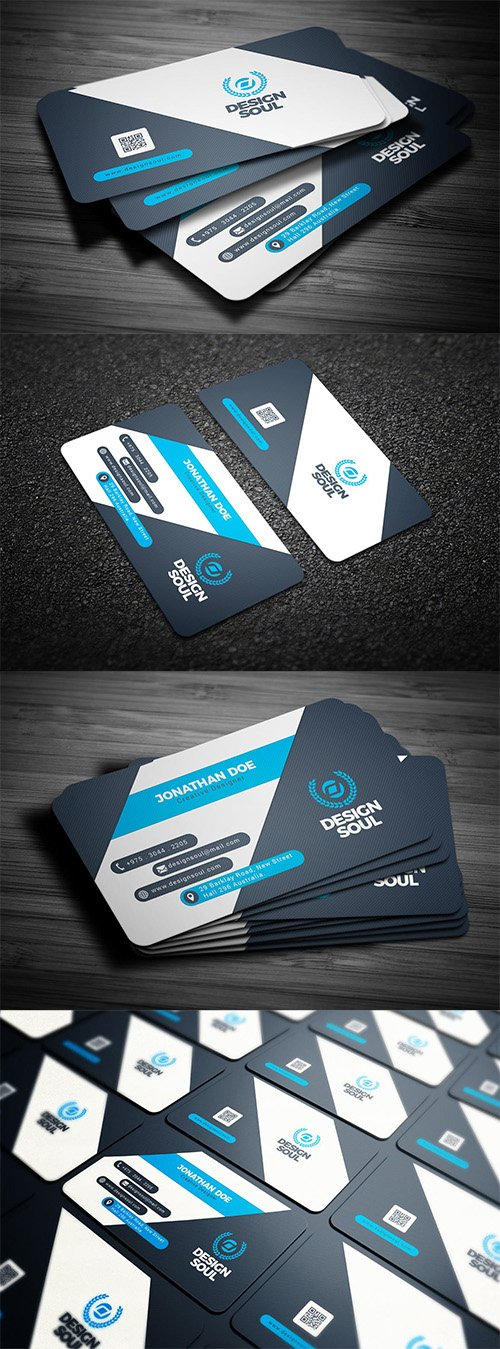 Business cards nitrogfx download unique graphics for creative business psd card reheart Image collections