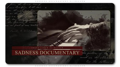 Sadness Documentary Slideshow - Project for After Effects (Videohive)