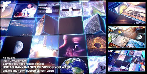 Mosaic Block Reveal - Tech - Project for After Effects (Videohive)
