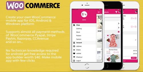 CodeCanyon - ionic 3 App for WooCommerce v4.4 - 19128672