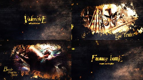 Fantasy Epic Battle Intro - Project for After Effects (Videohive)