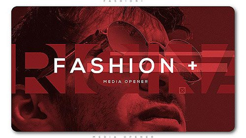 Fashion Plus Media Opener - Project for After Effects (Videohive)