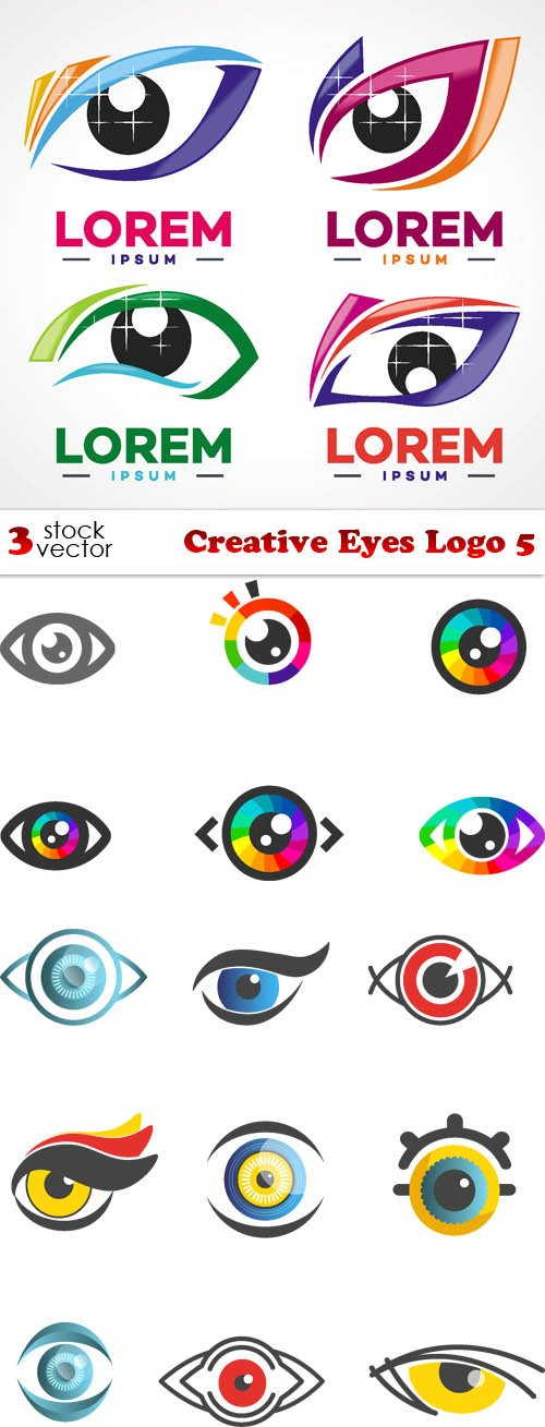 Vectors - Creative Eyes Logo 5