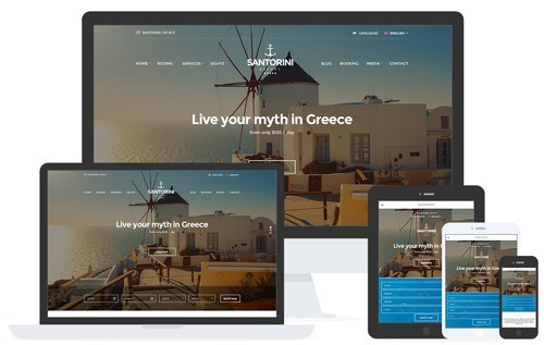 CSSIgniter - Santorini Resort v1.8.2 - WordPress Theme