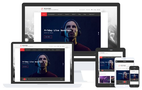 CSSIgniter - Sessions v1.9 - WordPress Theme
