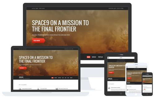 CSSIgniter - Space9 v2.1 - WordPress Theme