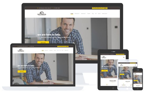 CSSIgniter - Technico v1.2.1 - WordPress Theme