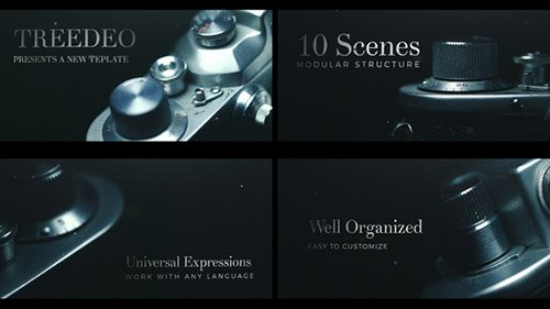 Cinematic Title Sequence - Project for After Effects (Videohive)
