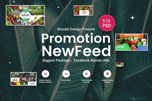 Promotion Facebook NewFeed Banner Ads