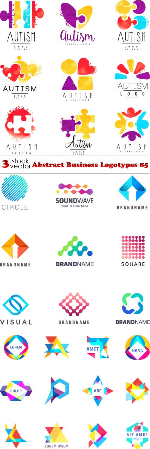 Vectors - Abstract Business Logotypes 89