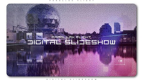 Digital Flight Parallax Slideshow - Project for After Effects (Videohive)