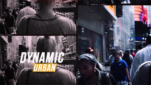 Dynamic Urban 19543040 - Project for After Effects (Videohive)