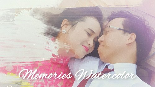 Memories Watercolor - Project for After Effects (Videohive)