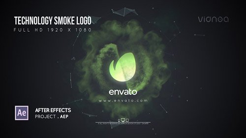 Technology Smoke Logo - Project for After Effects (Videohive)