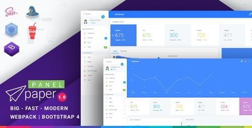 ThemeForest - Paper v1 0 1 - Bootstrap 4 Admin Template