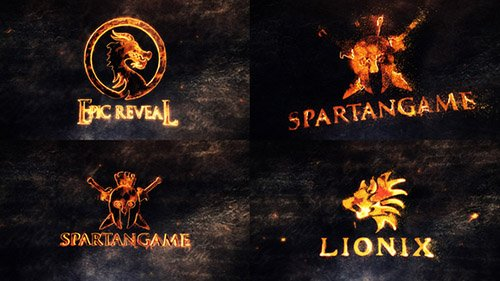Epic Legendary Logo Reveals - Project for After Effects (Videohive)