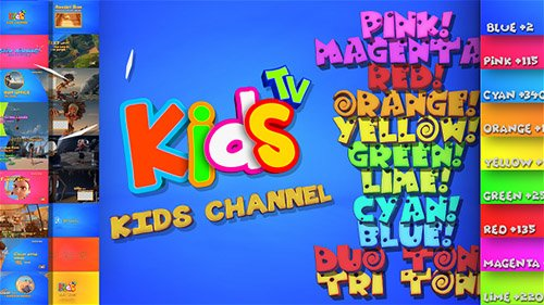 Kids And Family Channel Broadcast Graphics Package - Project for After Effects (Videohive)