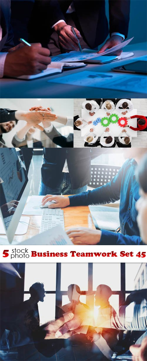 Photos - Business Teamwork Set 45