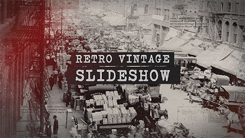Retro Vintage Slideshow - Project for After Effects (Videohive)