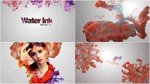 Water Ink Package - Project for After Effects (Videohive)