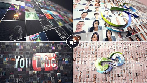 Multi Video 3D Logo 21888253 - Project for After Effects (Videohive)