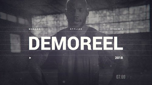 Videohive: Dynamic Demo Reel 21626432 - Project for After Effects