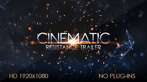 Resistance Cinematic Trailer - Project for After Effects (Videohive)
