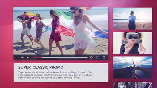 Videohive: Youtube Promo 21923852 - Project for After Effects