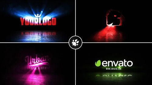 Cinematic Light Rays Logo v2 - Project for After Effects (Videohive)